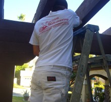 Precision Wallcovering employee, painting jobs orange county, painting contractor jobs orange county, House painting