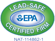 Lead-Safe EPA Certified Firm - NAT-114862-1